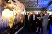 Paris, Le Bourget Air Show, ESA pavilion