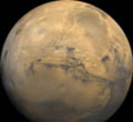 Mars - ESA's target for 2003