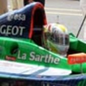 Pescarolo racing car at Le Mans 2003