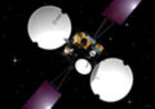 Satellites access remotely stored navigation information