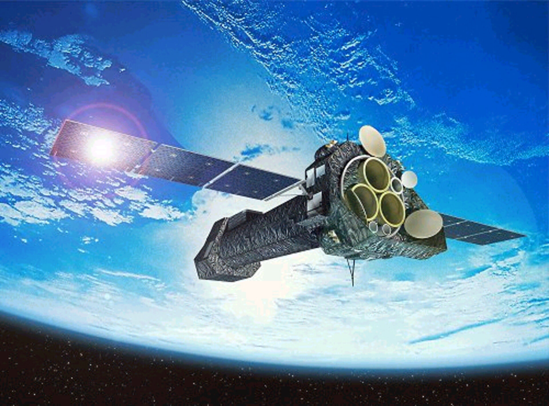 XMM-Newton spacecraft