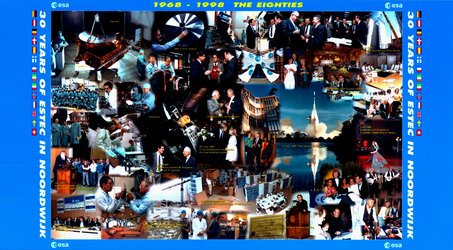 30 years of ESTEC, Photo montage
