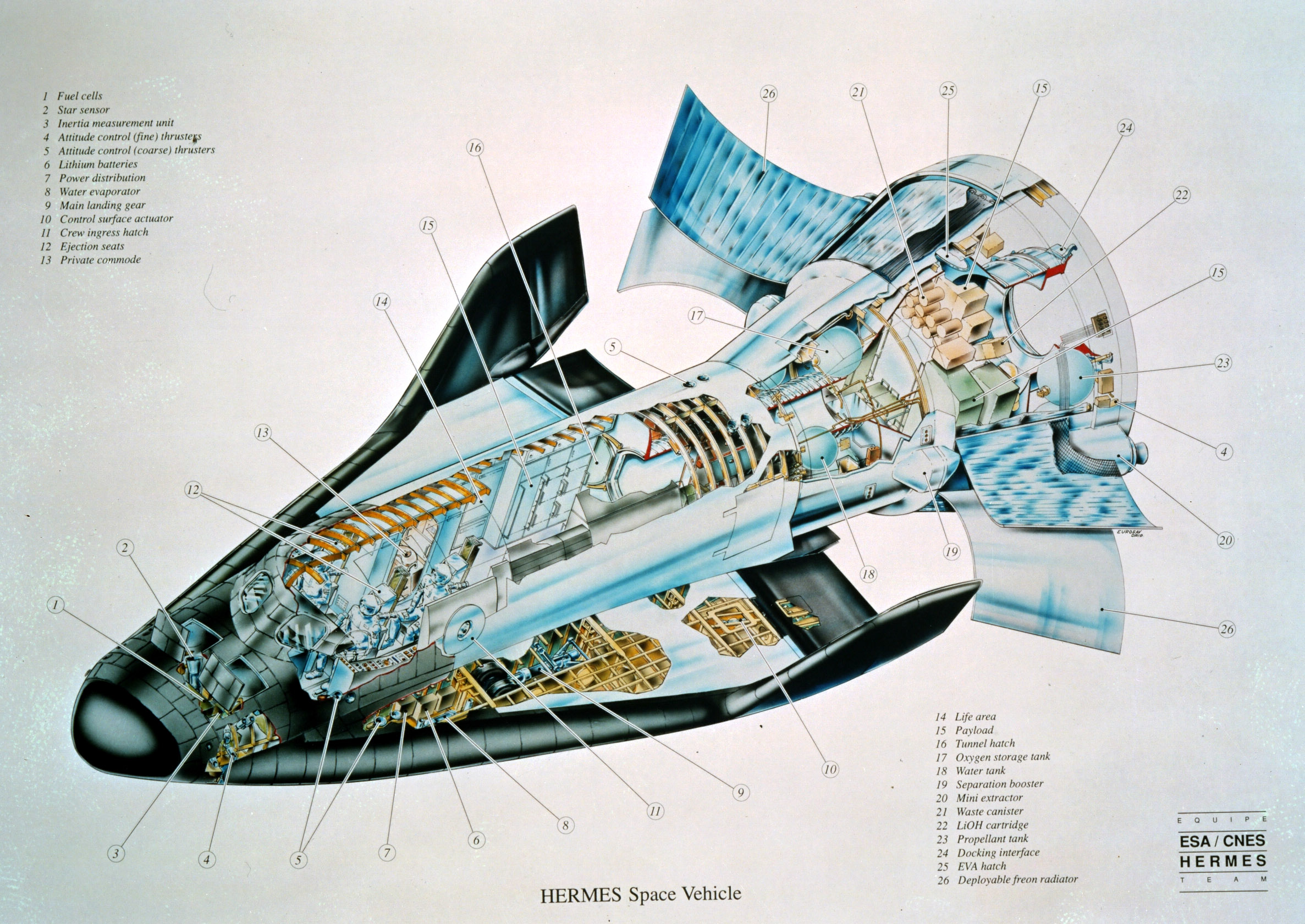 spacecraft cutaway - photo #20