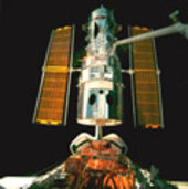 Hubble during STS-82