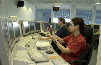 The Mars Express Control room at ESOC