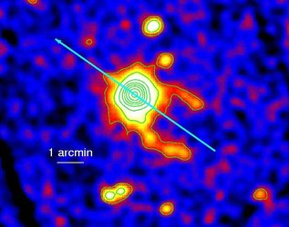 XMM-Newton image of Geminga showing the discovery of the twin tails