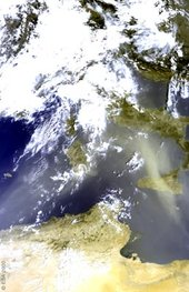 Italy, Sirocco Storm, 29 August 2003