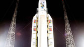 SMART-1 Launcher on launch zone-3, 26/09/2003