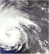 Envisat concludes a busy second year in orbit envisat this 17 september envisat meris image shows hurricane isabel off the us east coast sciox Gallery