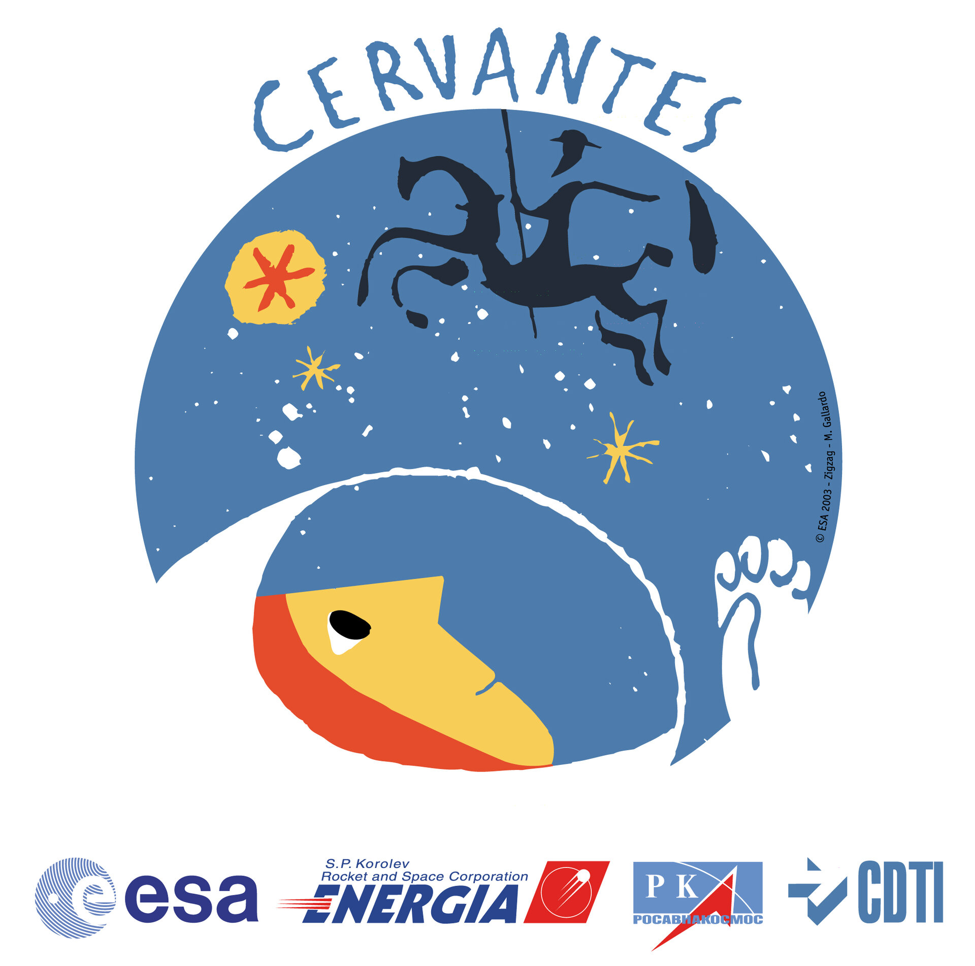 Cervantes Mission logo