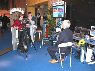 Giovanni Garofalo is inteviewed by SAT Expo TV.