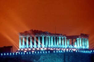 The Athens' Parthenon