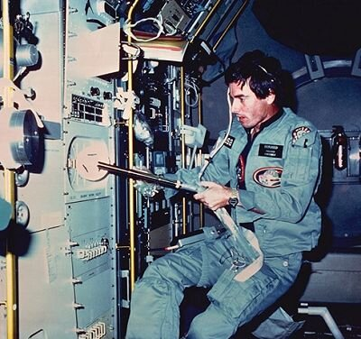 Ulf Merbold during Spacelab-1