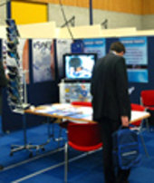 ESI stand at the Industry Space Days in ESTEC