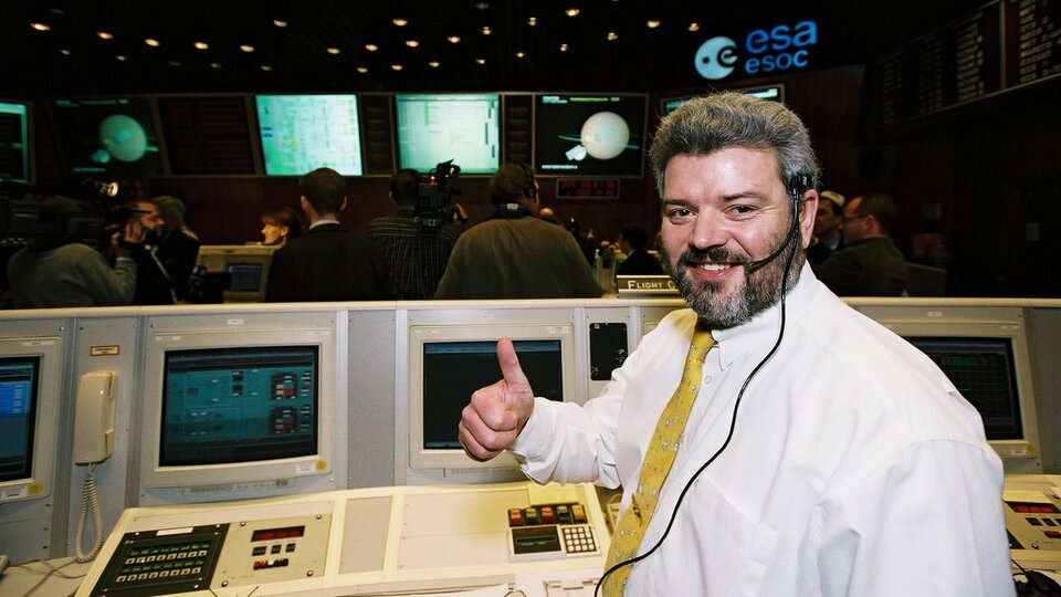 Flight Director Mike McKay