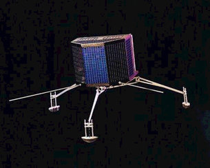 Artist's impression of the Rosetta lander