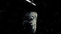 Rosetta asteroid fly-by