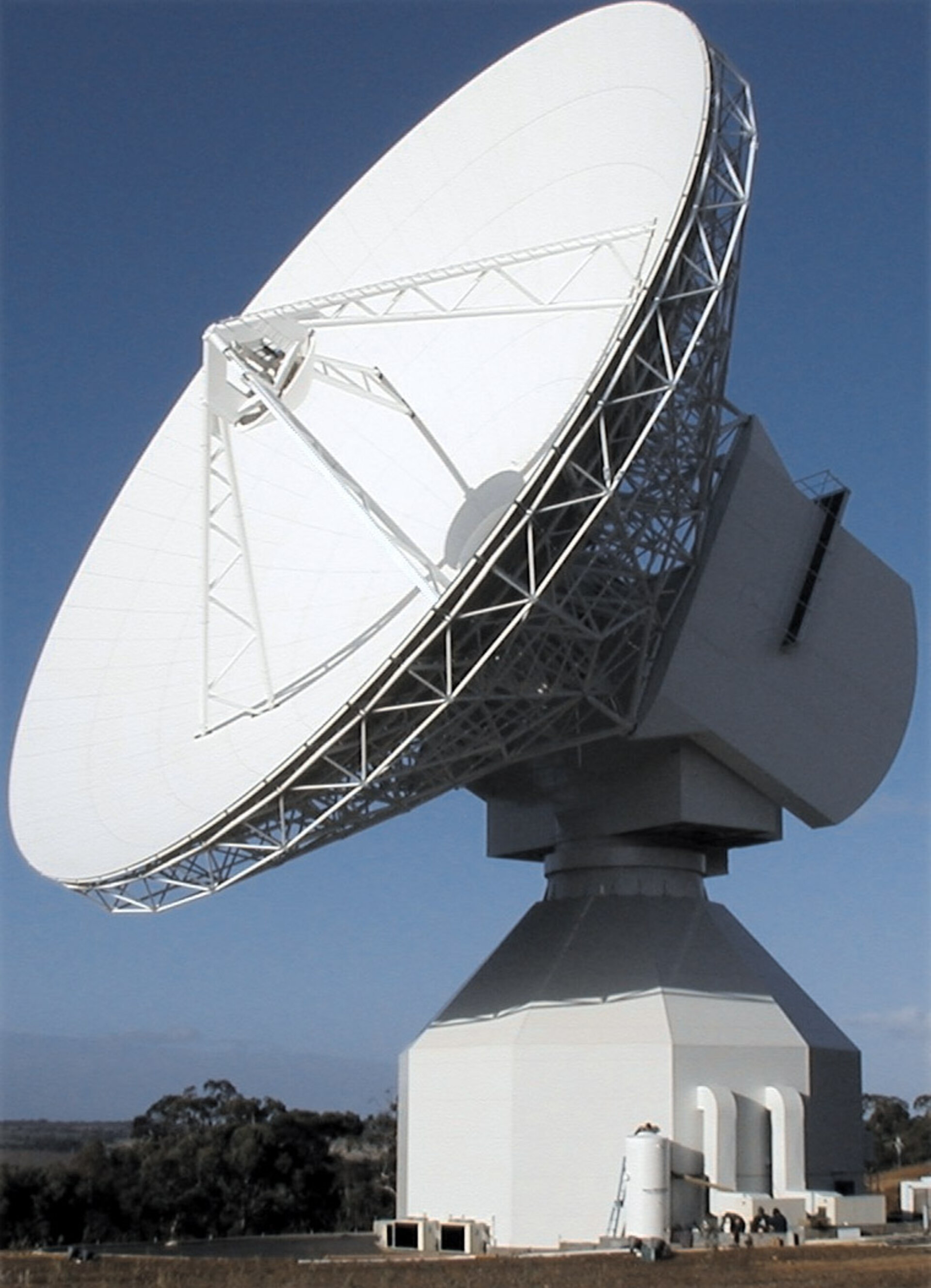 The antenna in New Norcia