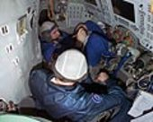 Soyuz training