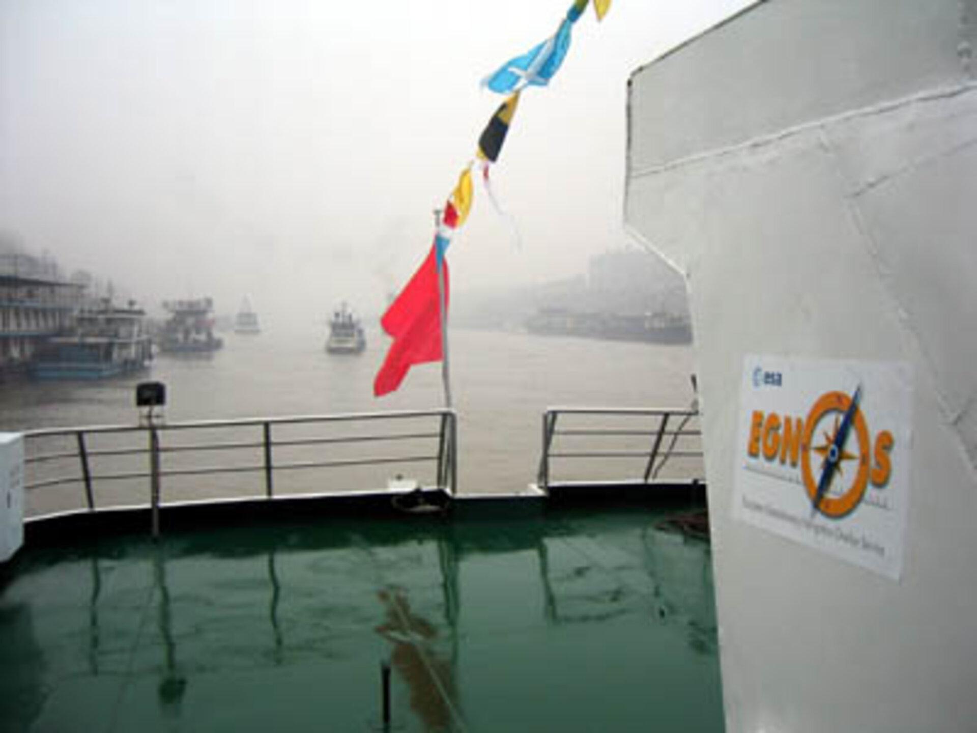 Esa Egnos Parantaa Laivojen Navigointiturvallisuutta Kiinassa