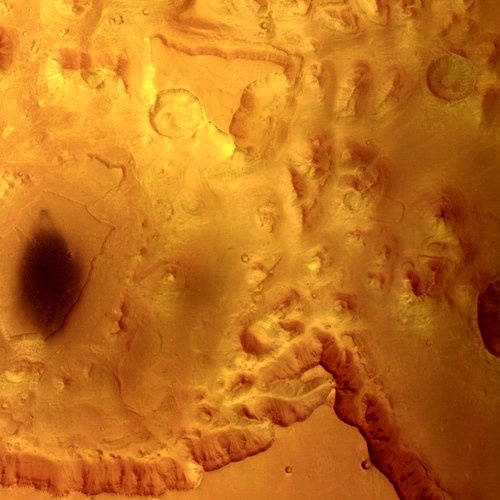 Valles Marineris - HRSC image 14 January 2004
