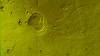 3D image of the Hecates Tholus volcano