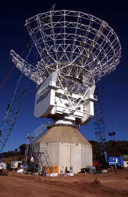 ESA`s new antenna at New Norcia, Western Australia