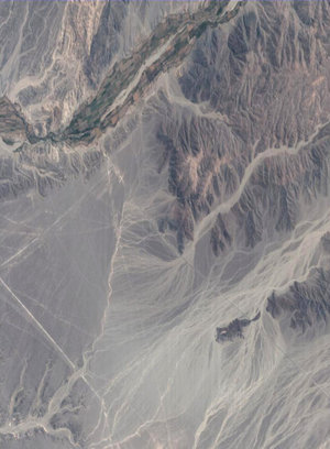 Proba image of the Nasca plain