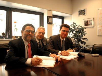 Galileo System Test Bed (GSTB) launch contract signed
