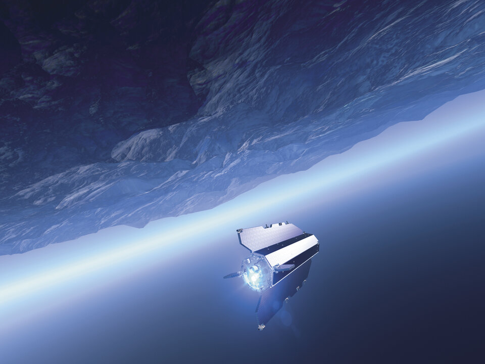 GOCE: orbiting on the edge