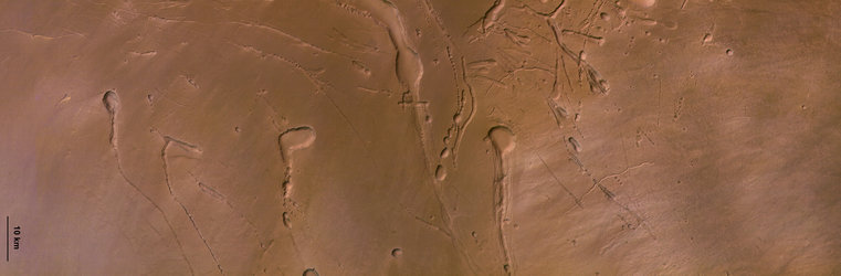 HRSC colour image of Ascraeus Mons
