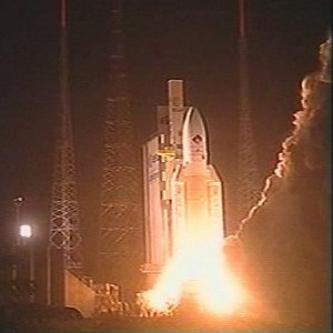 Launch of the Ariane 5 carrying Rosetta