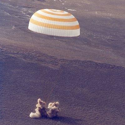 Image result for soyuz tma-3 landing