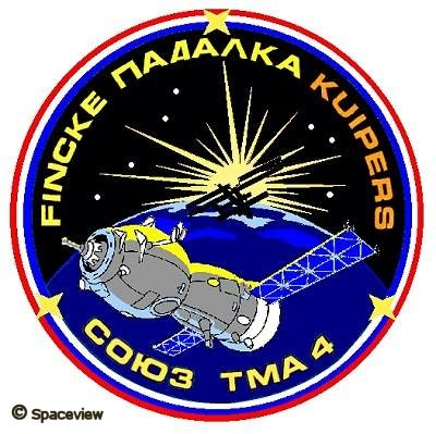 Mission patch Soyuz TMA-4