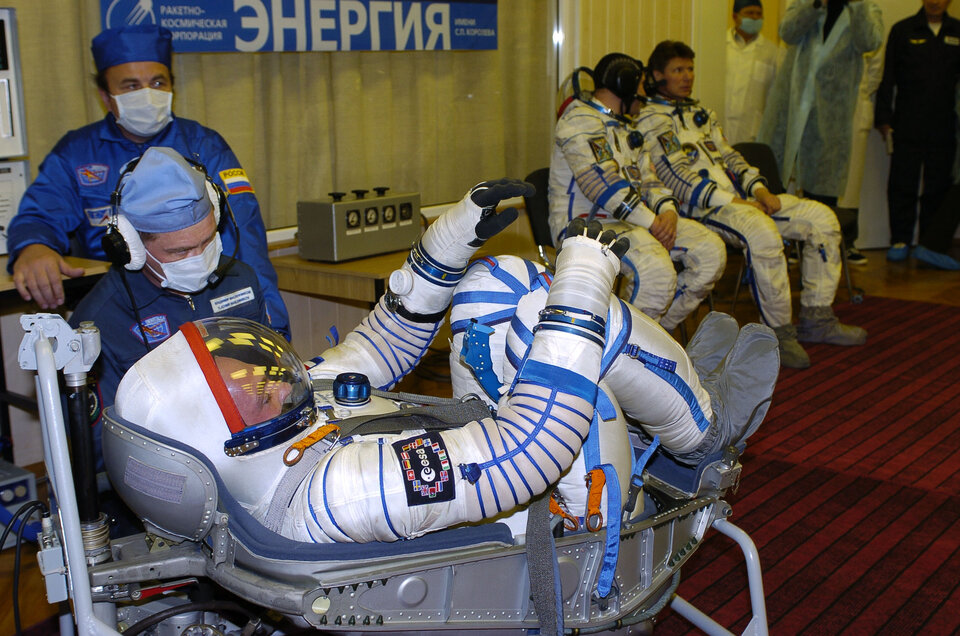 A final test for astronaut André Kuipers