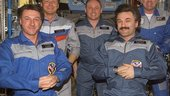 Crew on ISS during DELTA Mission