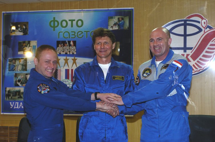 Delta crew during the pre-launch press conference