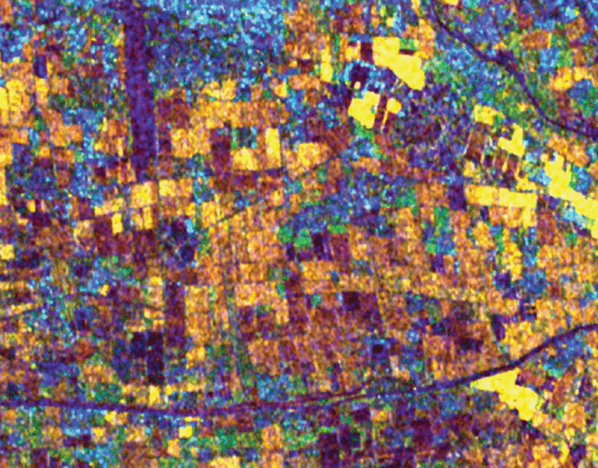 Fields in South Beijing, derived from ERS SAR data