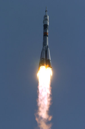 Launch of the DELTA Mission from Baikonur Cosmodrome in Kazakhstan
