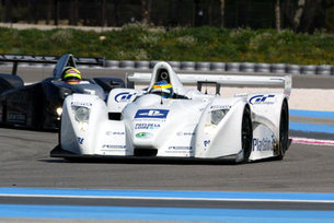 Pescarolo at the Paul Ricard race track in southern France