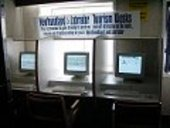 Tourism information kiosks at sea