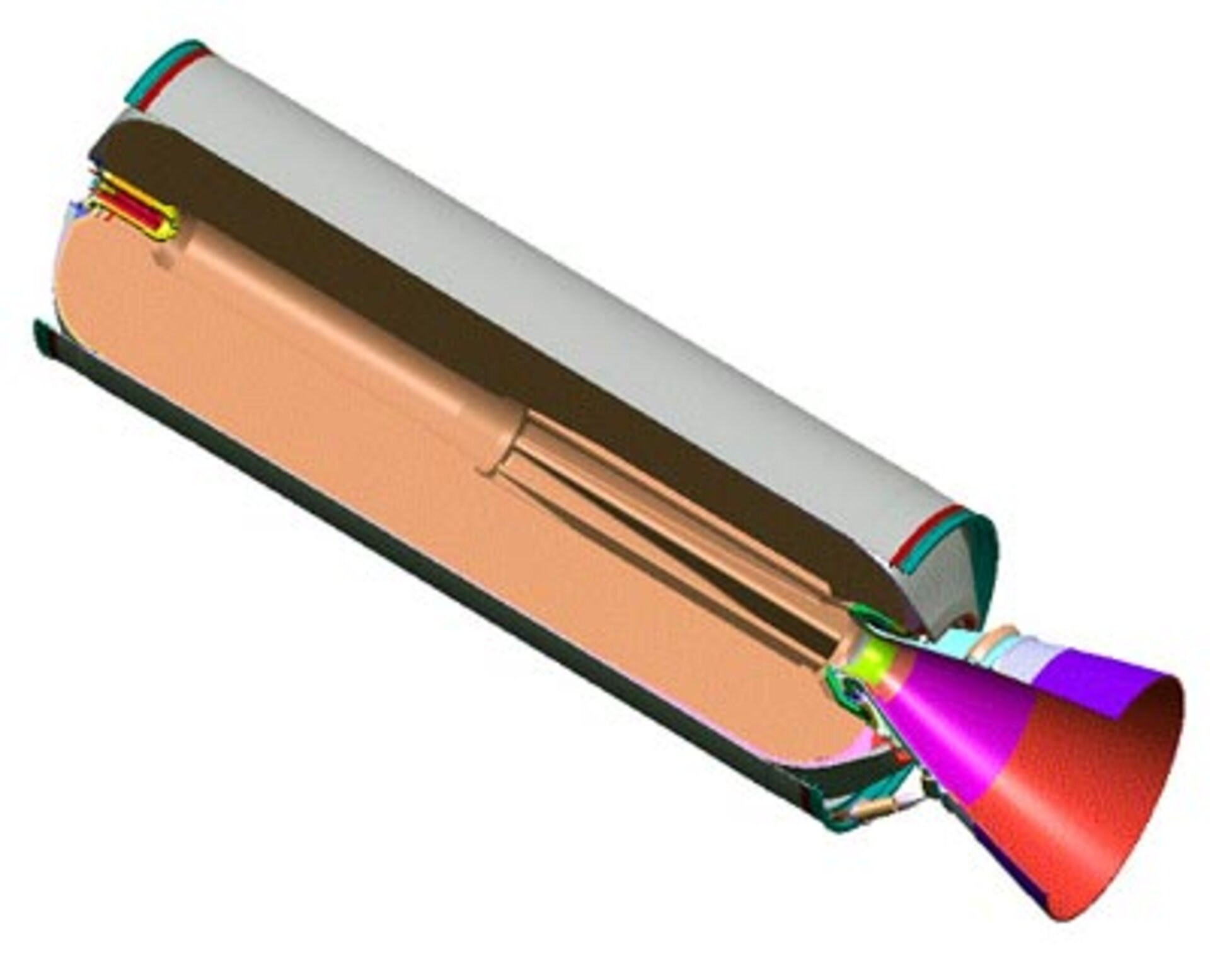 Vega second stage