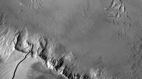 Olympus Mons in black and white