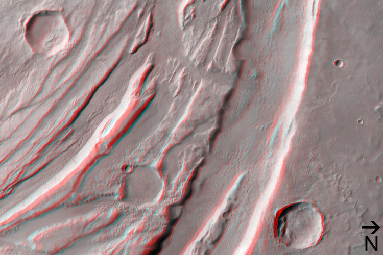 (3) Acheron Fossae horsts and grabens in 3D