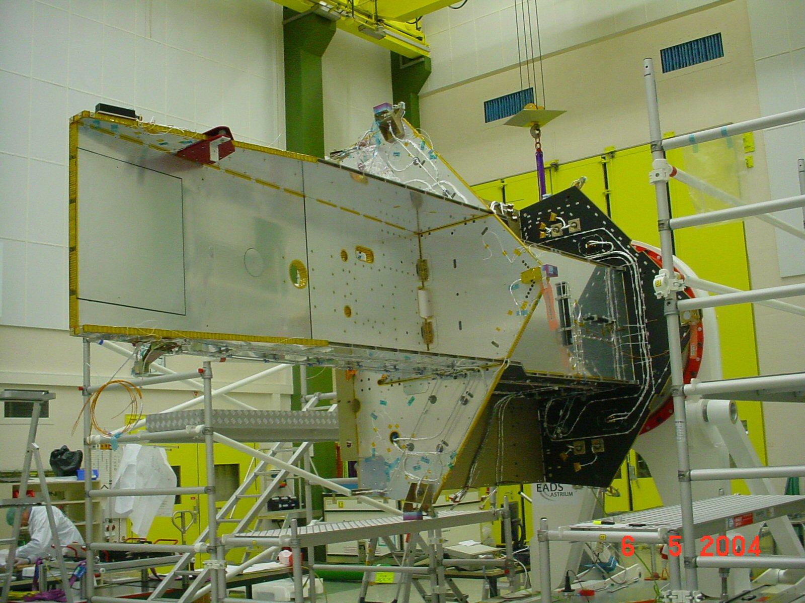 esa satellite structure - photo #5