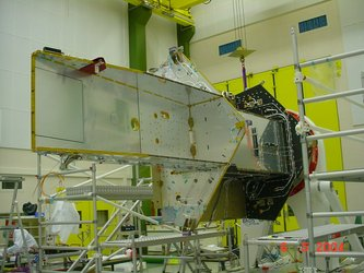 CryoSat flight structure