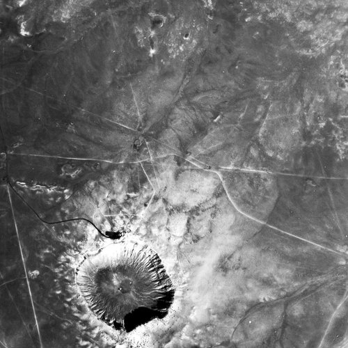 HRC image of Meteor Crater, Arizona, USA