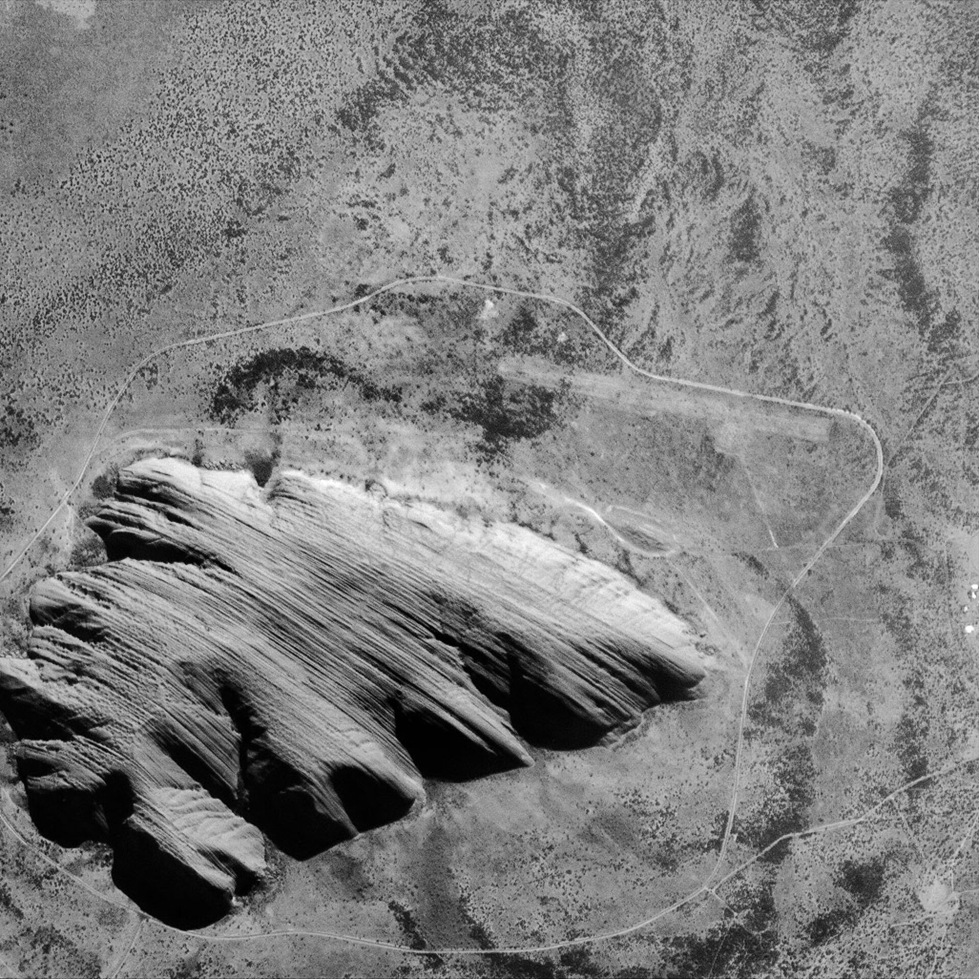 HRC image of Uluru or Ayers Rock