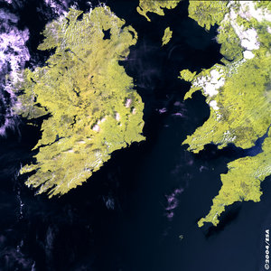 Ireland - MERIS - 14 June 2003