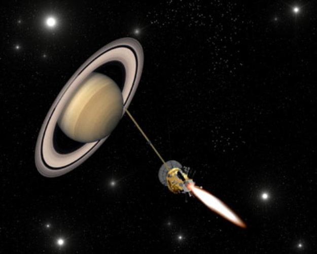 Cassini Huygens Nears Insertion Into Saturn S Orbit